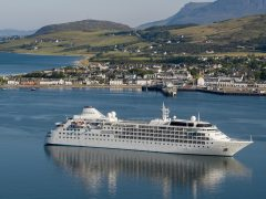 Ullapool Harbour – Cruise Ship Silver Wind