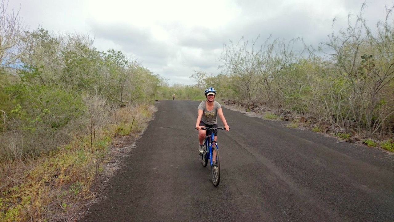 Cycling in the Galápagos